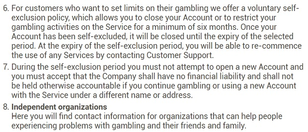 Fight against gambling addiction