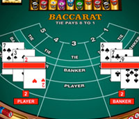 baccarat - popular online casino games