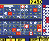 keno - popular casino games