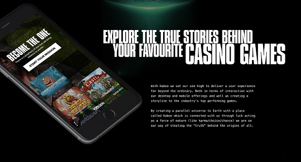 Kaboo Casino-mobile version