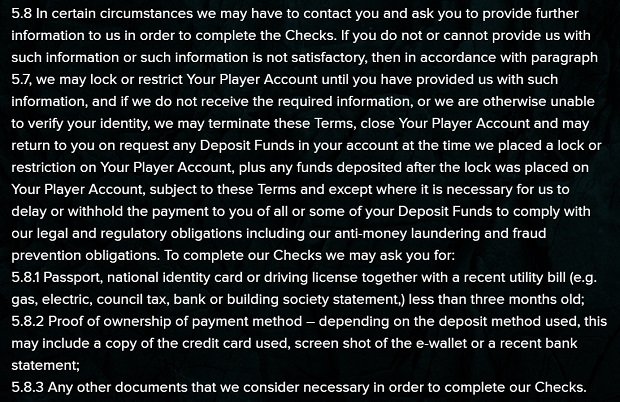 Kaboo casino-identify check