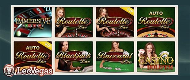 Leo Vegas-live casino