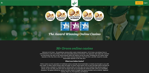 Mr Green Casino-platform