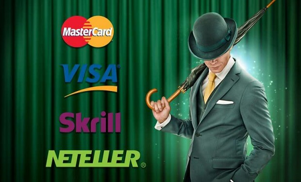 Mr Green Casino-payments