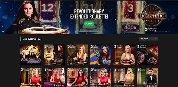 10Bet Casino-live