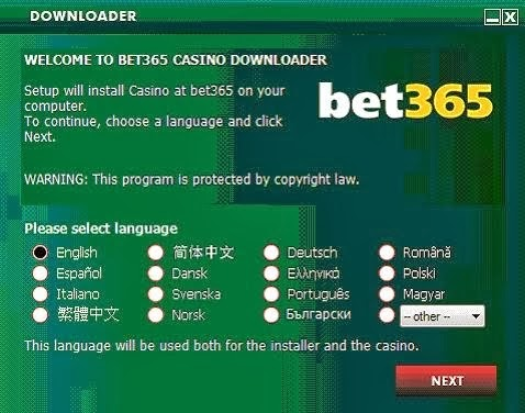 Bet365 Casino-downloader