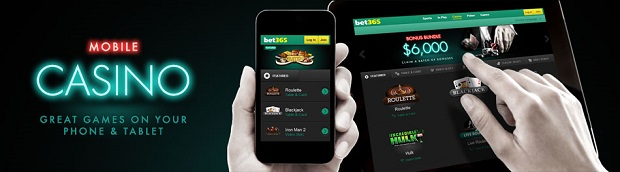 Bet365 Casino-mobile version