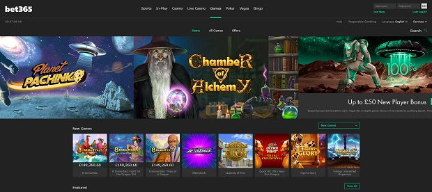 Bet365 Casino-online version