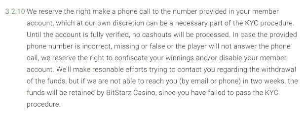 Bitstarz Casino-additional checks