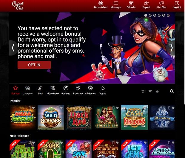 Cabaret Club Casino-online version games