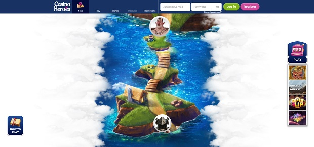 Casino Heroes-online version