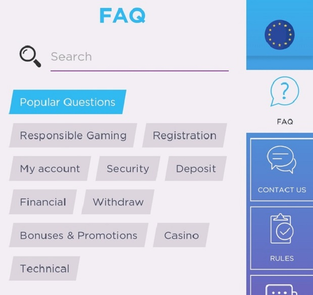 Genesis Casino-support
