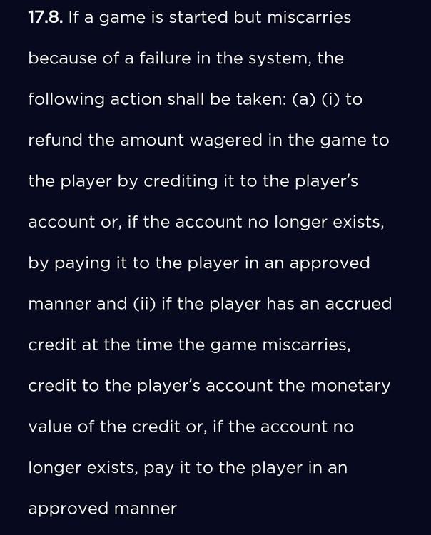 Genesis Casino-errors