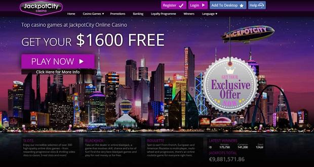 JackpotCity Casino-deposit bonuses