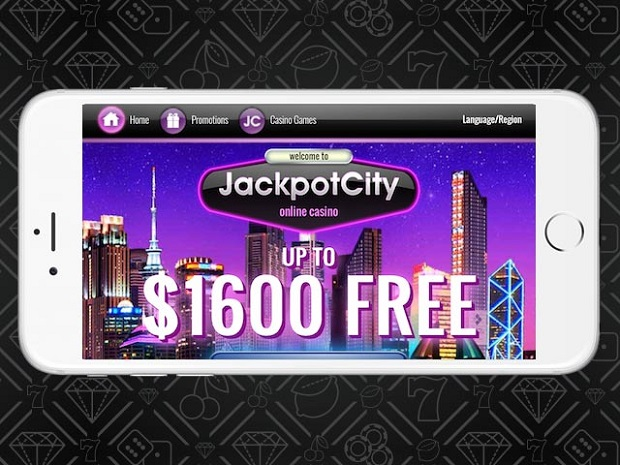 JackpotCity Casino-mobile app