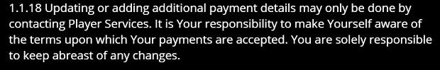 Jackpotcity Casino-payment data