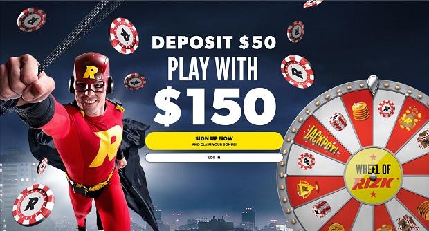 Rizk Casino-deposit bonus