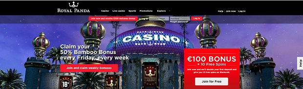Royal Panda Casino-deposit bonus