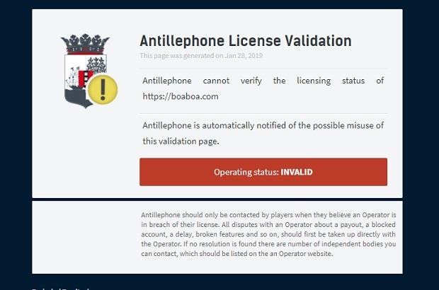 BoaBoa-license