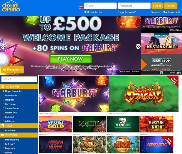 Cloud Casino-online-version-games