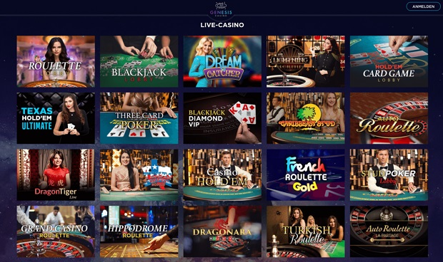 Genesis Casino-live-casino