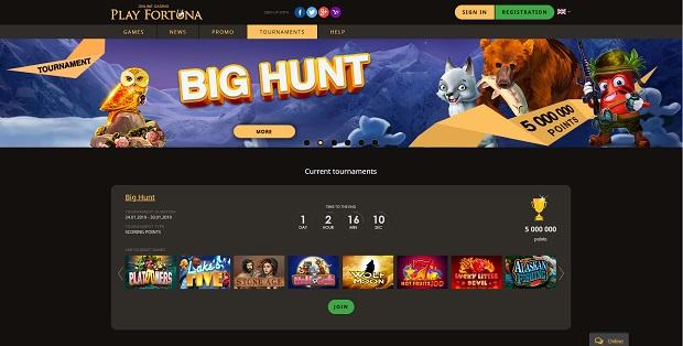 Play Fortuna-bonus-turnirs