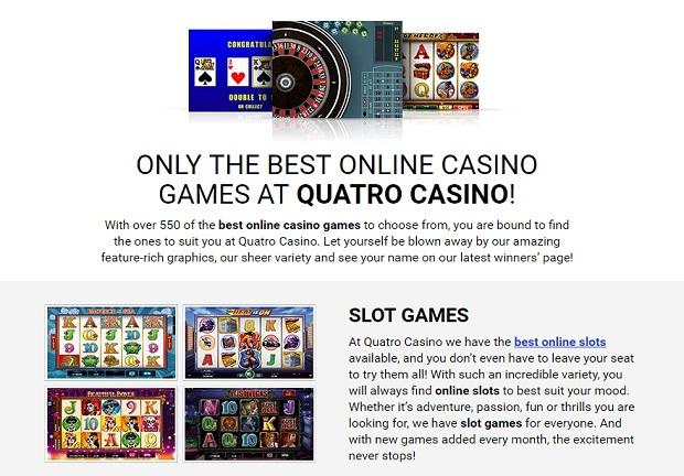 Quatro Casin-online-version-games