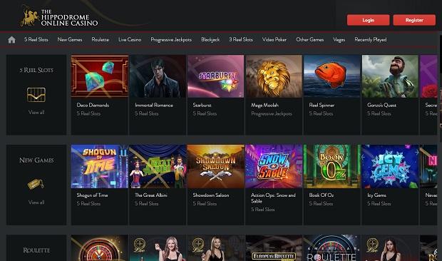 The Hippodrome Online-online-version-games