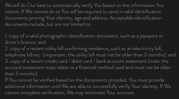 The Hippodrome Online-identity-verification-during-registration