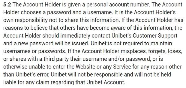 Unibet-profile-security