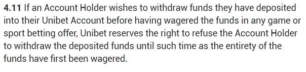 Unibet-withdrawal-conditions