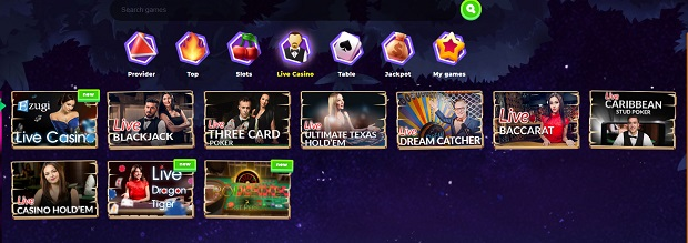 Wazamba Casino-live