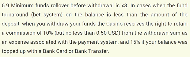 YoYoCasino-withdrawal-fees