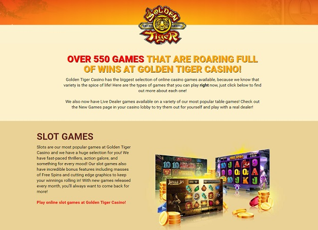 Golden Tiger Casino-online version