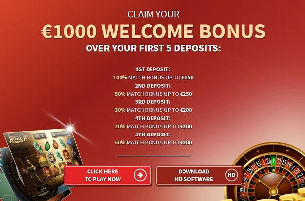 Villento Casino-bonus-deposit