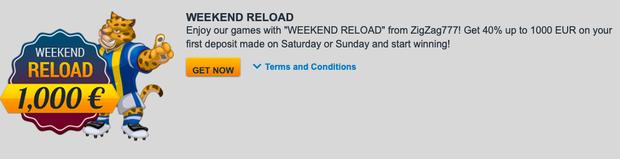 Reload Weekend