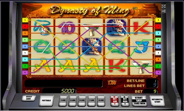 Main kinds of online casino games