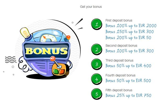 Casino-X deposit bonuses