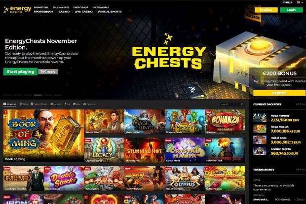 energycasino.com reviews
