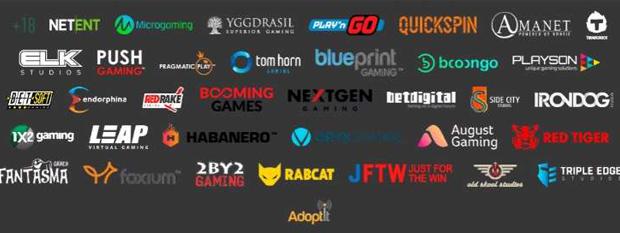 Casino slot manufacturers