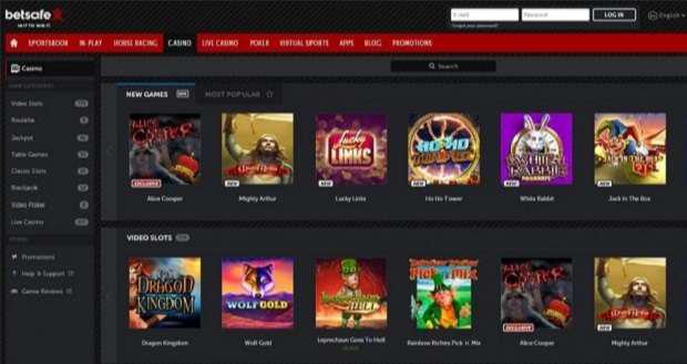 Types of casino slots