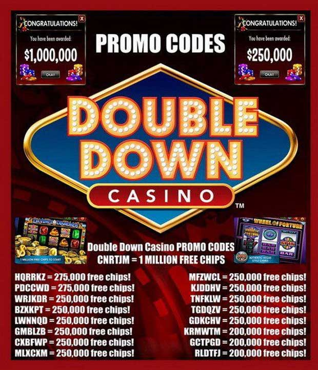 Casino types of promo codes