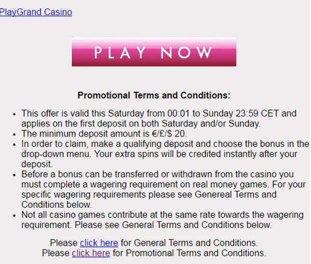 Promo codes terms and conditions