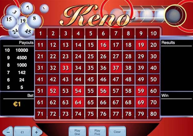 Keno casino